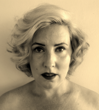 Alice after the transformation into Marilyn