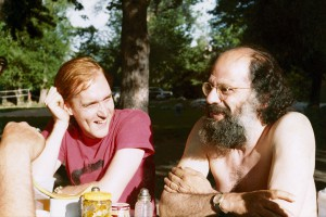 Bothwell with Allen Ginsberg