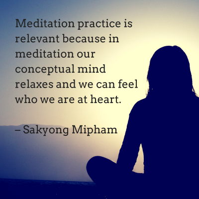 meditation in everyday life course